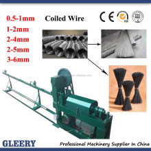 GSW0.5-1,1-3,2-4mm reinforcement steel wire straightening & cutting machine