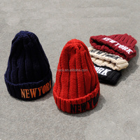 high quality bulk beanies with embroidery logo wholesale custom embroidered beanie in stock