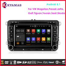 Android Auto Radio GPS Car DVD 2din for VW Universal Android Car DVD Player with 1.6GHz CPU Radio GPS