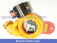 Anti-theft high security bicycle chain lock for bicycle sales in bulk