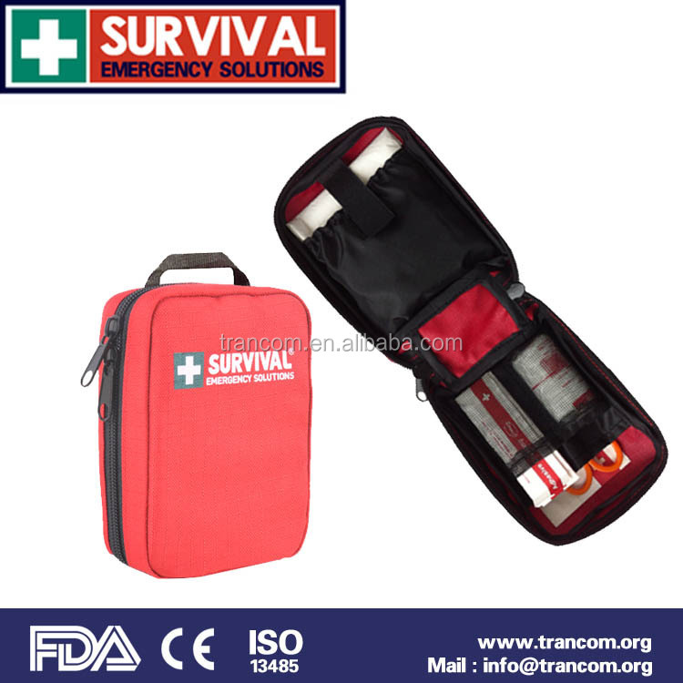 TR103 Trade Assurance High Quality Mini First Aid Kit And Cpr Mask With FDA ISO CE TGA