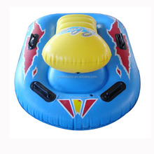 Hot selling plastic inflatable snowbike snow sled