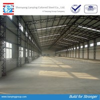 prefabricated layout construction design steel structure warehouse