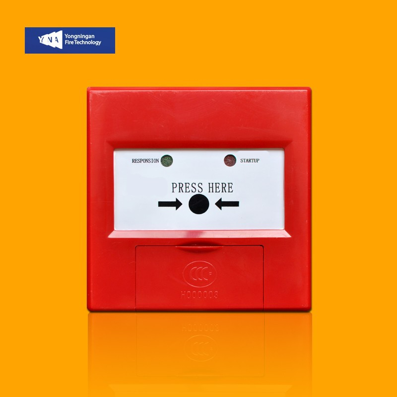 Addressable Fire Alarm Manual Call Point Pull Station Push Button