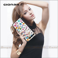 Best Selling Hold Up to 8 Cards Phone Cheque Wrist Female Jewelry Fish Cheap Leather Card Wallet