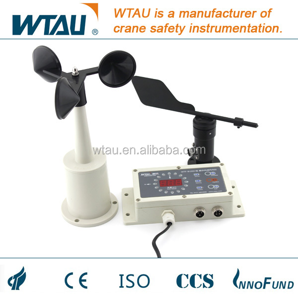 Wind speed direction anemometer