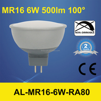 AL-MR16 aluminium 6W NON-DIMMABLE Directional Lamp