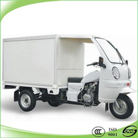 Hot selling 200cc three wheel motorcycle mobile food cart