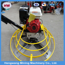 Jining hengwang 2016 Honda GX160 5.5HP concrete float power trowel machine for sale
