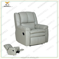 WorkWell most popular pu leather luxury recliner sofa Kw-Fu39