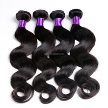 Hot sale Virgin Double No Tangle Cabelo Natural Color Wholesale Price remy cambodian brazilian Human hair weave