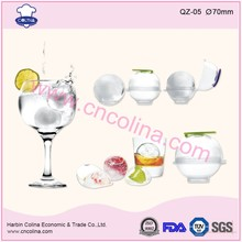 4pcs/set new style plastic ice ball maker mold