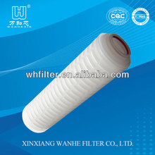 PES pleated water filter for Chemistry Industry