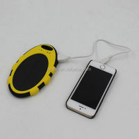 Hot Sales Fashion Solar Charger For Mobile Phone With Ligth