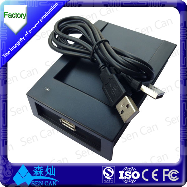Best quality 13.56mhz USB rfid hf desktop reader with free sdk
