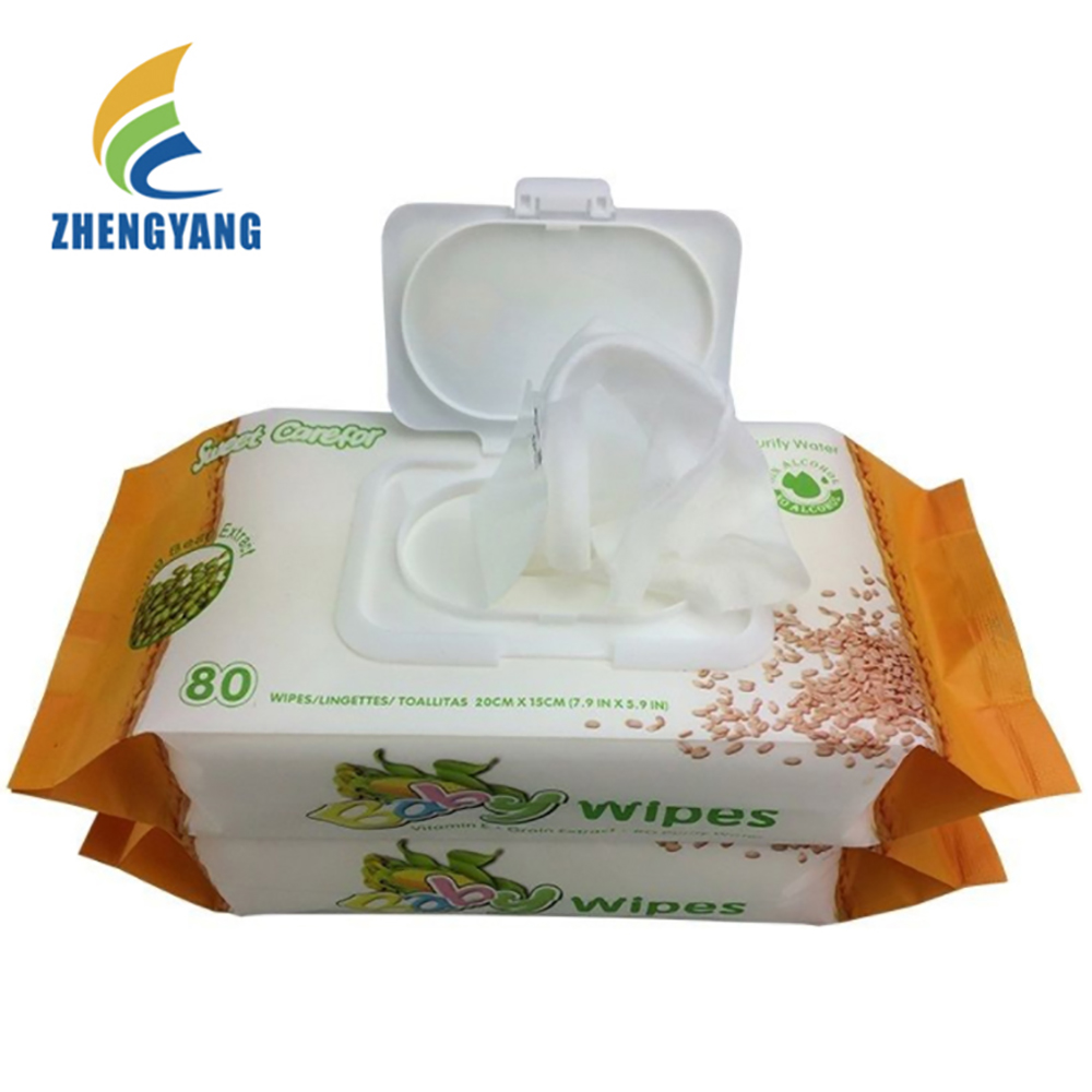 wholesale baby wipes wet china biodegradable organic baby wipes