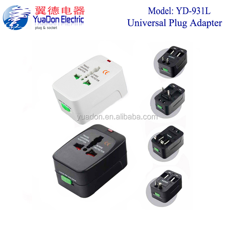 china wholesale market 931l multi travel plug adapter adaptor for Philippines thailand