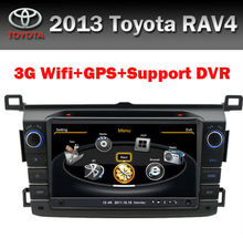 Touch Screen 8 inch Car GPS Toyota RAV4 2013 3G WIFI