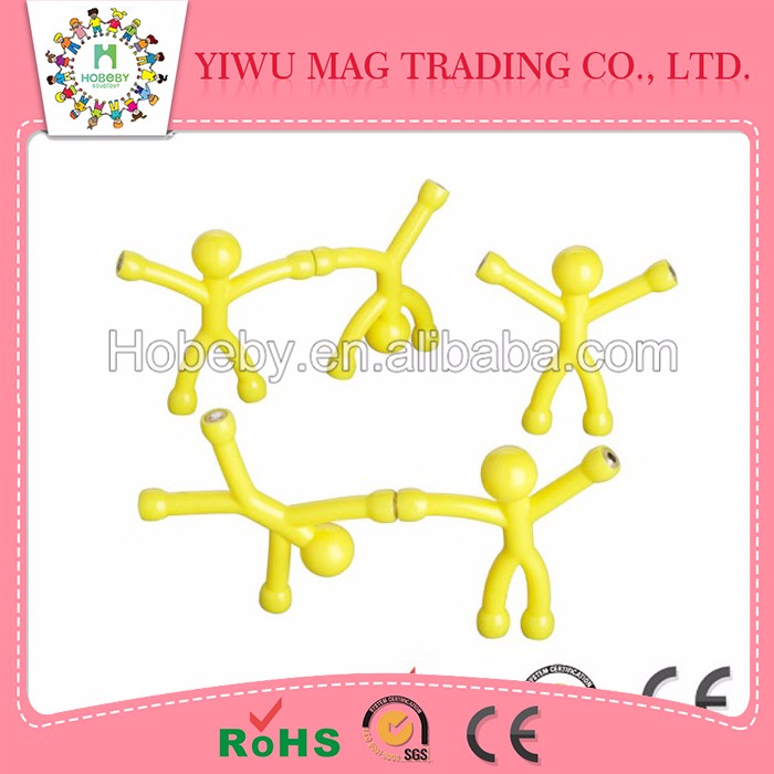 China wholesale markettranslucent q-man magnet toys