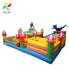 Fun City Inflatable Maze Cheap Inflatable Obstacle Courses for Party /Funny Maze Outdoor Kids Inflatable Play Station