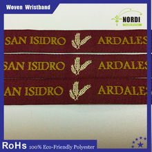 2015 Cheap Wedding Gift For Guest Woven Wristbands