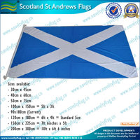 Scotland St Andrews flag printed in 160gsm spun polyester
