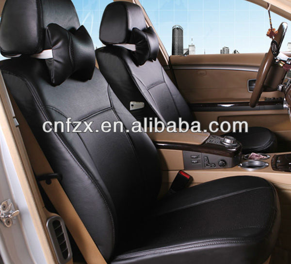 2016 fashionable design of black pvc leather car seat covers for toyota noah/harrier/voxy/axio auto seat cover