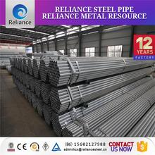 big diameter 40g galvanized steel pipe from china factory