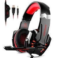 KOTION EACH G9000 Stereo Gaming Headset with LED Light for PS4, PC, Xbox One Controller