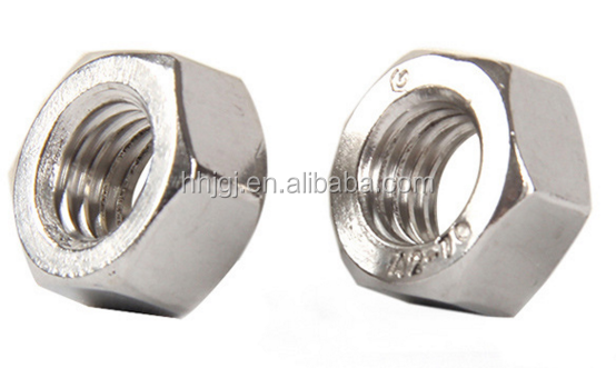 304 316 High Quality Stainless steel fittings casting BSP NPT thread Hex Back Nut Hex Nuts DIN934 High Quality