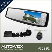 Parking sensor reverse camera mirror for toyota