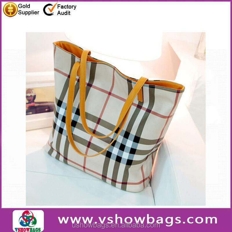 Good quality soft PU lady shoulder bag for lady OEM wholesale shoulder tote leather handbags for women