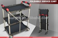 2013 New Product,3 Shelf,Innovation Folding Push Cart