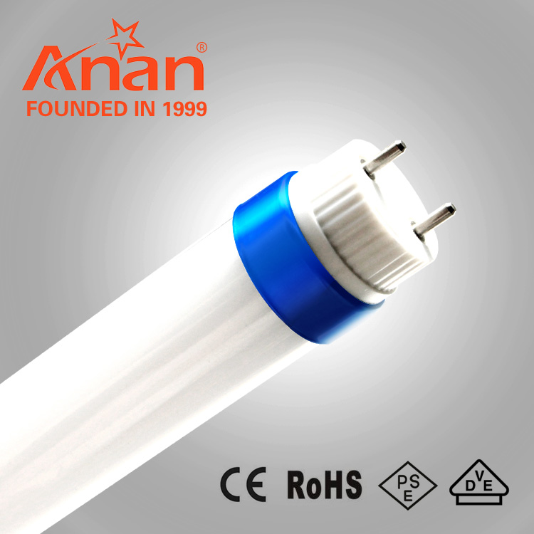 2 years warrant ywith CE RHOS CCC certification36w 1500mm 4ft Aluminum +PC T8 LED tube