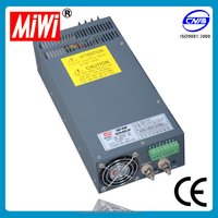 SCN-600-24 Industry High power 600W 24V 25A CE approved, China hot sale Led Driver Switch Power Supply