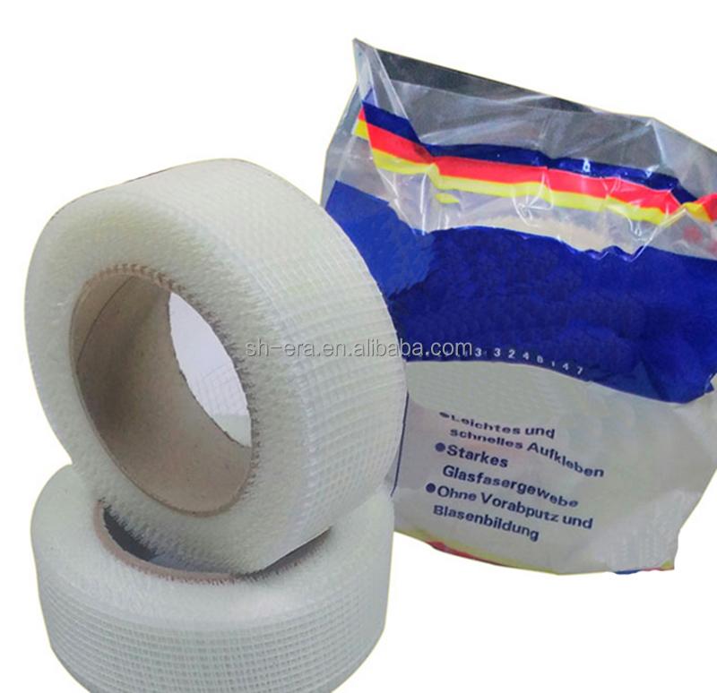 Adhesive Drywall Tape : Self adhesive fiberglass tape drywall joint mesh for
