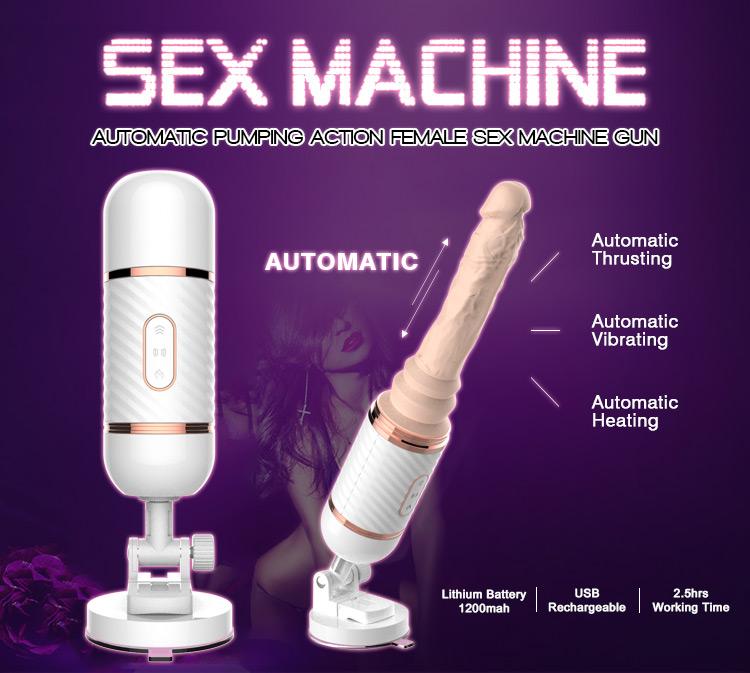 Mais recente projeto de máquina rotativa pulsando vibrador brinquedos para adultos mulheres sexo de alta qualidade
