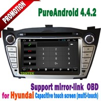 factory sales car dvd stereo multimedia navigation system hyundai IX35/new Tucson with canbus,bt,tv,ipod,rearcamera