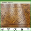 Big size unique design wooden art parquet flooring indoor
