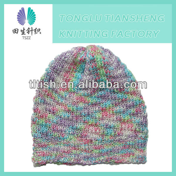 New brand latest designer cute style winter warm soft ladies dress hats wholesale