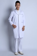 Fashionable Designed White Hospital Doctor Coat/ Lab Coat