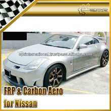 For Nissan 350Z Z33 Ings-Style Full Bumper Body Kit