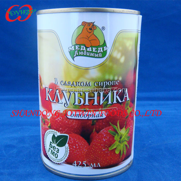 Canned red strawberry Cheap