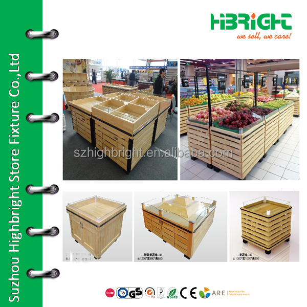supermarket vegetable display case,vegetable stand basket