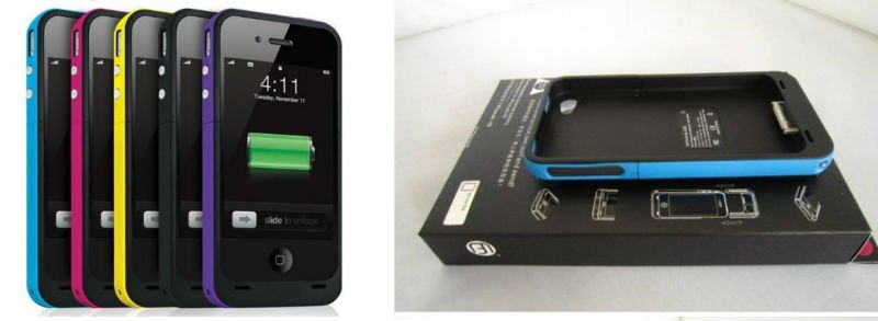 battery case for iPhone 4G 4S with retail package UK STOCK shipping by DHL