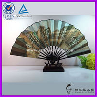 Chinese bamboo paper fan