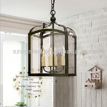 Antique American Countryside Metro Birdcage Lamp OGS-LD25