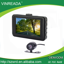 Factory Wholesale 1080P Vehicle Dashcam Car Dual Cameras Driving Video Recorder