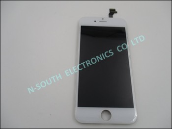 "Brand New Grade A lcd display+touch screen digitizer assembly replacement for iphone 6 4.7"" white"