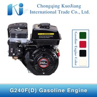 Small G240F(D) 6hp Single cylinder Petrol Engine for Sale